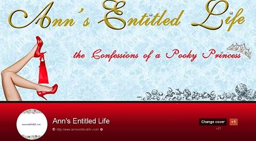 Follow Ann's Entitled Life!