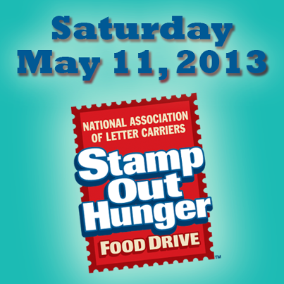 Stamp Out Hunger May 11, 2013