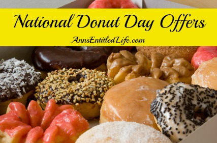 2014 National Donut Day Offers