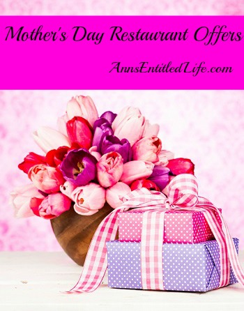 Mother's Day 2013 Restaurant Offers