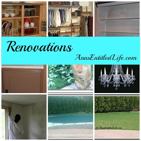 2015 Home Renovations List
