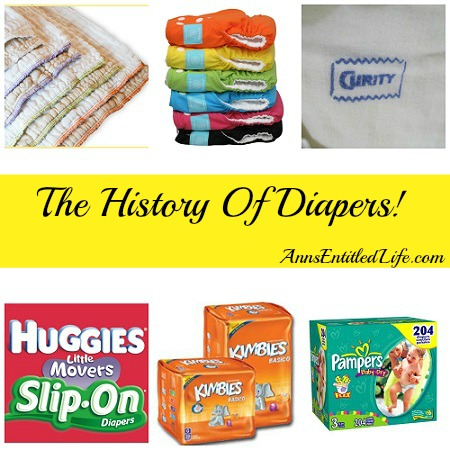 The History Of Diapers
