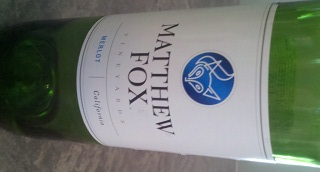 Matthew Fox Merlot Wine Review