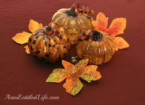 Easy Fall Decor Idea