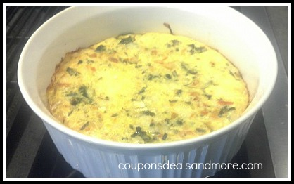 frittata is an egg based dish in which you combine leftover meats ...