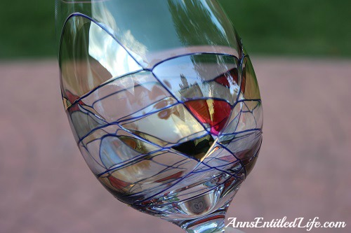 Hand blown glassware beautiful hand blown crystal wine for Crystal bar milano