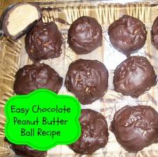 Easy Chocolate Peanut Butter Ball Recipe