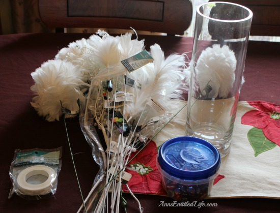 Easy Holiday Table Decoration Idea