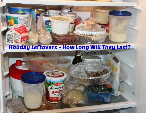 Holiday Leftovers - How Long Will They Last?