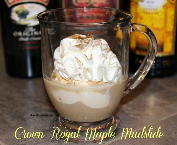 how to drink crown royal maple