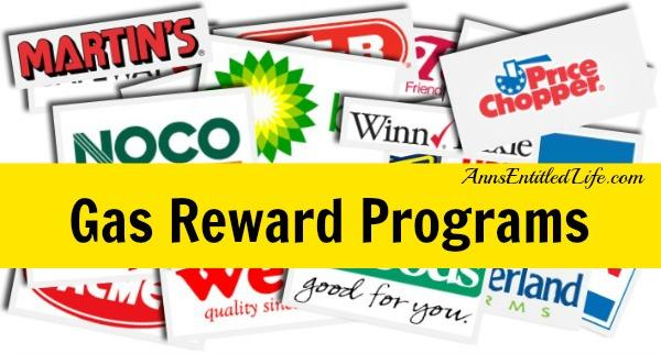 Gas Reward Programs