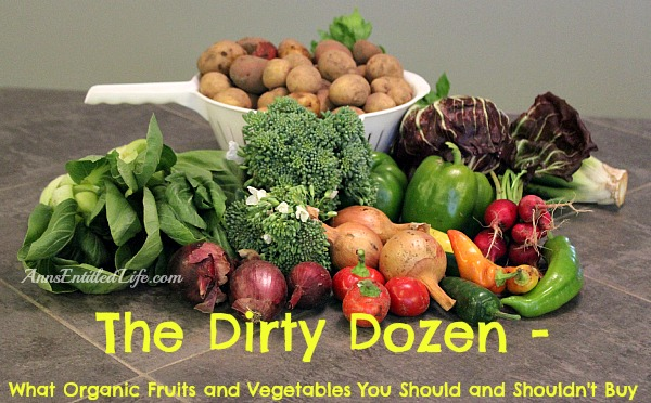 The Dirty Dozen - What Organic Fruits and Vegetables You Should and Shouldn't Buy