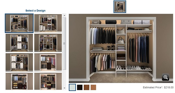 Reach In Closet Design Ideas