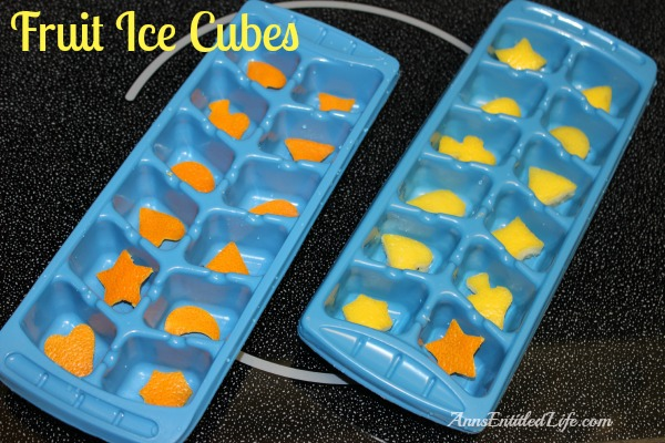 Fruit Ice Cubes