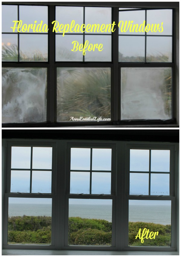 Florida Replacement Windows. Our Florida Replacement Windows experience. Safety concerns, hurricane strength, pictures of the process, and before and after photographs. Step by step hurricane window replacement to Florida Hurricane code, on the Atlantic Ocean in Florida.