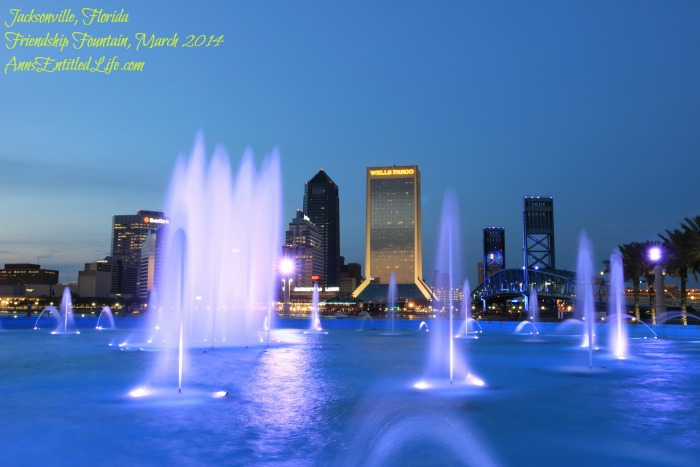 Friendship Fountain, Jacksonville, Florida