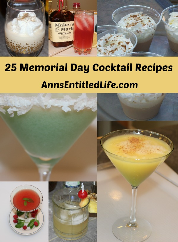25 Memorial Day Cocktail Recipes