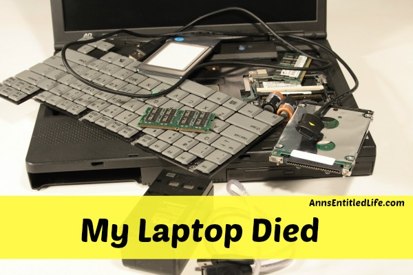 My Laptop Died