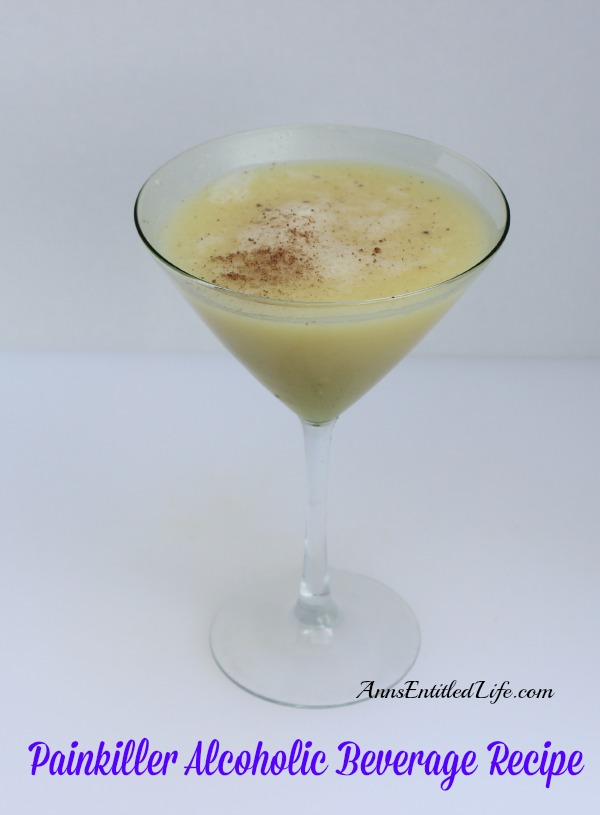 Painkiller Alcoholic Beverage Recipe. A copycat cocktail recipe based on the infamous Cheddar restaurant beverage. There is a strict limit on there!