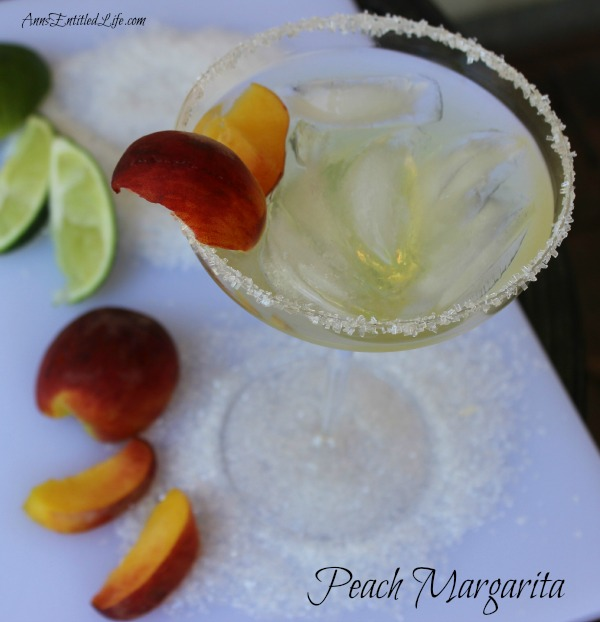 are perfectly suited to a delicious, cool libation. This Peach ...