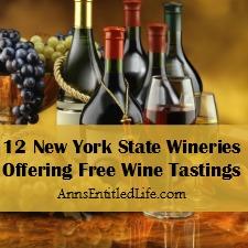 12 New York State Wineries Offering Free Wine Tastings