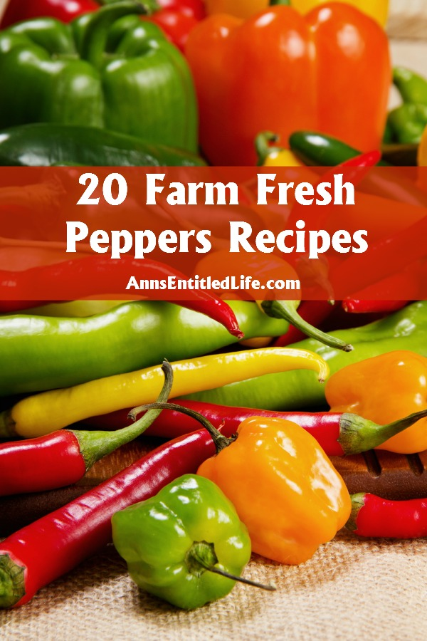 20 Farm Fresh Peppers Recipes. In Season Peppers! Nothing is better than the fresh, crunchy, sweet or spicy taste of farm fresh peppers.  Whether you are looking for a jalapeno, habanero, poblano or bell pepper recipe, the 20 fresh, in-season pepper recipes below are a healthy, and versatile, way to enhance your next meal.