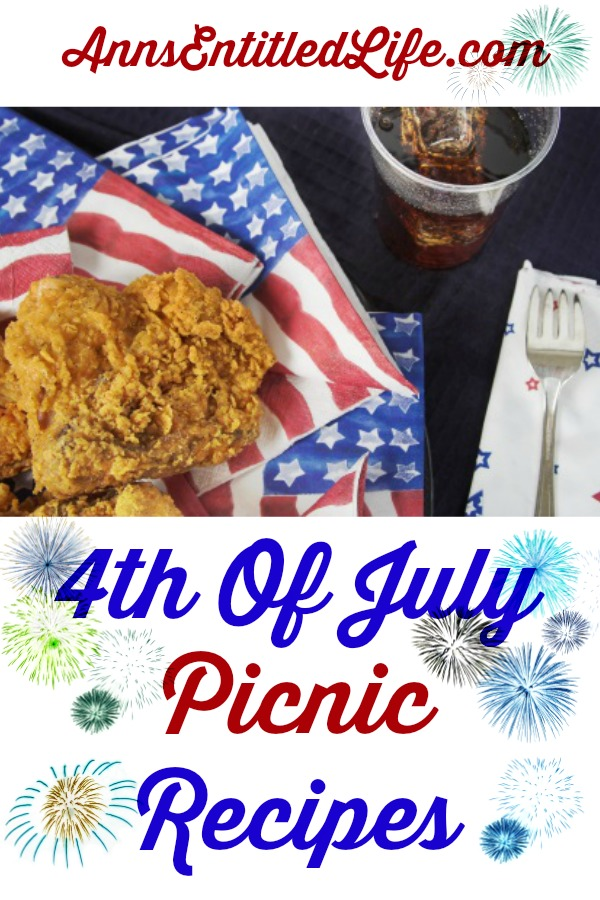 25 Awesome 4th Of July Picnic Recipes. Looking for 4th Of July Picnic Recipes? Celebrate Independence Day with these favorite 4th Of July Picnic Recipes! Whether you're throwing a party in your backyard or taking a dish to pass at a picnic or potluck, you are sure to find the perfect 4th Of July Picnic Recipe on this fabulous list.