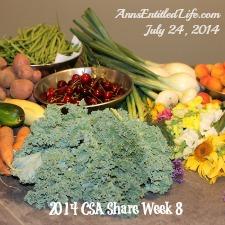 2014 CSA Share Week 8