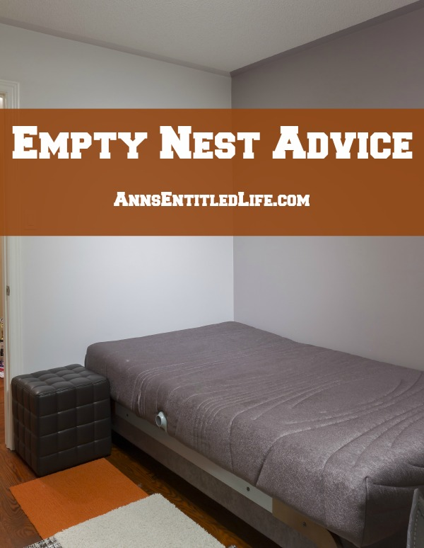 Empty Nest Advice. Is your son or daughter off to college in a few weeks? Will you be throwing a party? Or crying real tears as they leave home for what is probably (hopefully!), for good? You may need some advice on how on how to handle the emotions that come when your child moves out (from another parent!)