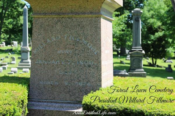 Grave, President Millard Fillmore