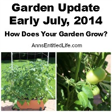 Garden Update, Early July, 2014