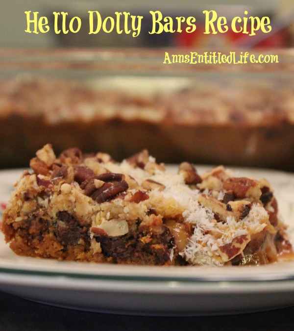 hello dolly bars by ann my grandmother made these hello dolly bars for ...