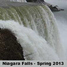 Niagara Falls – Spring 2013