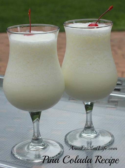 Pi a colada recipe for Cocktail pina colada