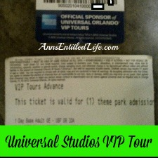 Universal Studios VIP Tour