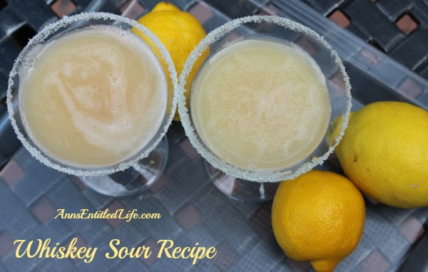 Whiskey Sour Recipe. The Whiskey Sour, a classic cocktail of Bourbon, Lemon Juice, Simple Syrup and a raw egg that dates back to the 19th century.