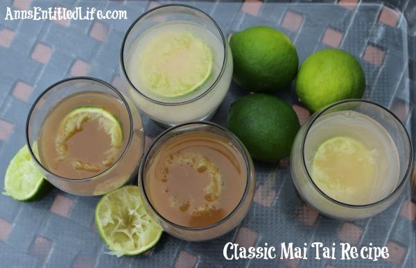 Classic Mai Tai Recipe