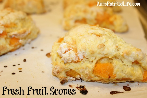 Fresh Fruit Scones Recipe. These Fresh Fruit Scones are delicious, moist and flavorful. A wonderful way to use fresh, in-season produce.