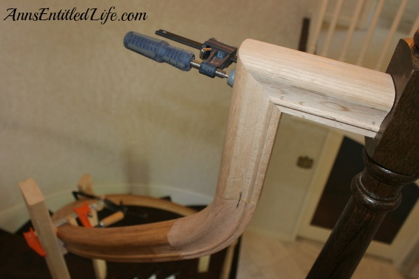 Installing a New Banister