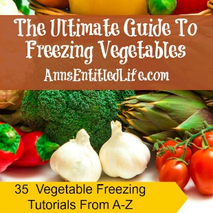 The Ultimate Guide To Freezing Vegetables