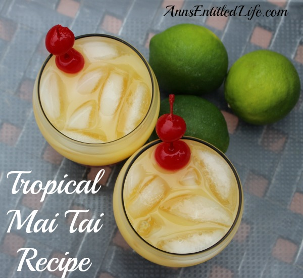 Tropical Mai Tai Recipe