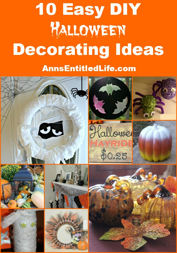10 Easy DIY Halloween Decorating Ideas