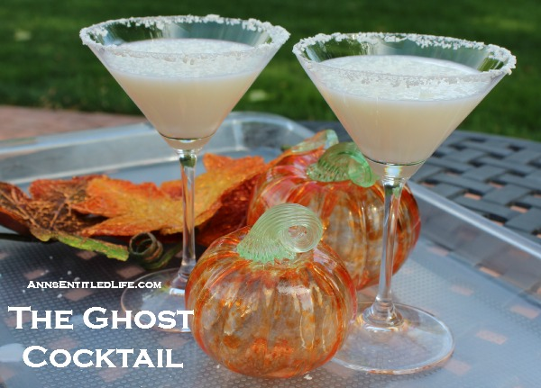 The Ghost Cocktail Recipe. Celebrate Halloween with this ghoulishly good Ghost Cocktail Recipe!
