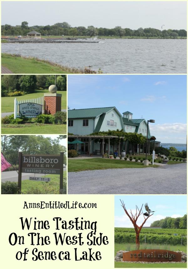 Wine Tasting On The West Side Of Seneca Lake