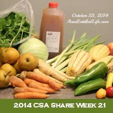 2014 CSA Share Week 21