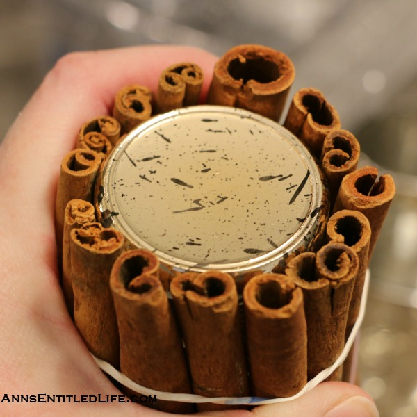 Christmas Craft: Cinnamon Stick Votives