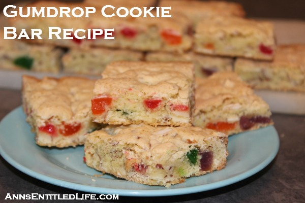 Gumdrop Cookie Bar Recipe