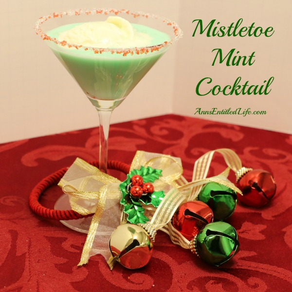 Mistletoe Mint Cocktail. The Mistletoe Mint Cocktail is refreshing holiday cocktail made with Crème de menthe and Crème de cacao. A creamy, minty, cool beverage to enjoy while sitting by a toasty winter fire.