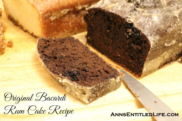 original bacardi rum cake recipe the original bacardi rum cake recipe from the 1980s