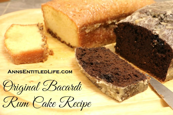 the original bacardi rum cake recipe from the 1980s this is one moist and delicious rum cake recipe